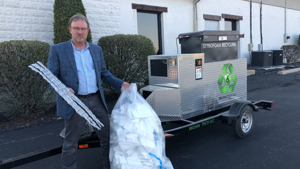 New mobile processing system designed to make dealing with EPS waste cost-effective