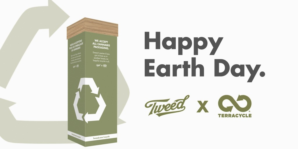 Tweed and TerraCycle team up to take Cannabis Packaging Recycling Program across Canada (CNW Group/Canopy Growth Corporation)