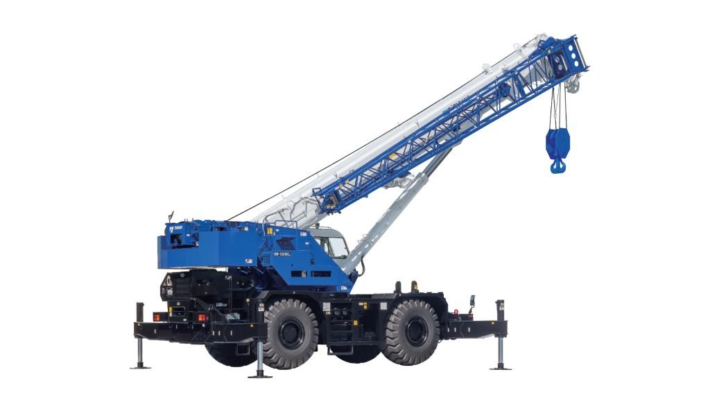 Tadano GR-1200XL rough-terrain crane handles high lifting challenges