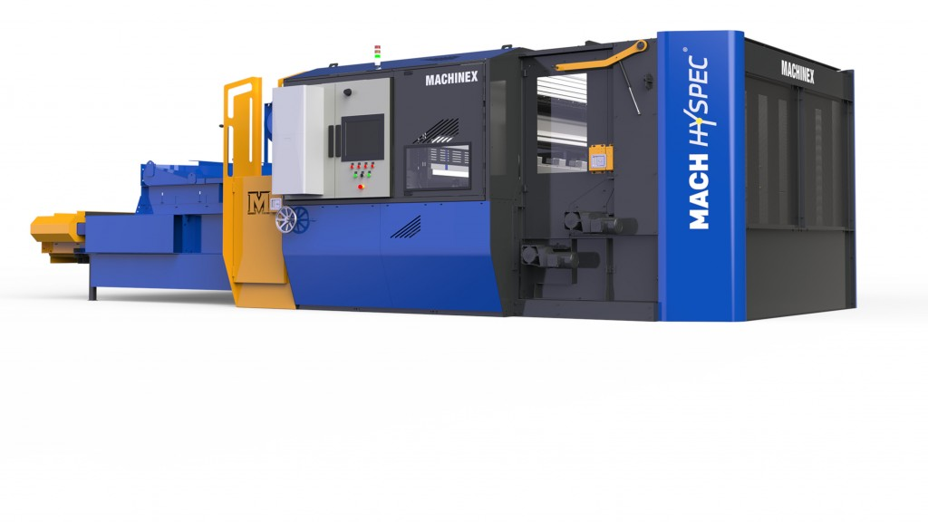 Machinex revamps optical sorter with easier access for maintenance