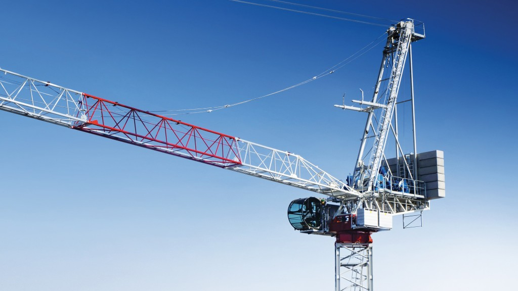 Raimondi LR273 luffing-jib crane