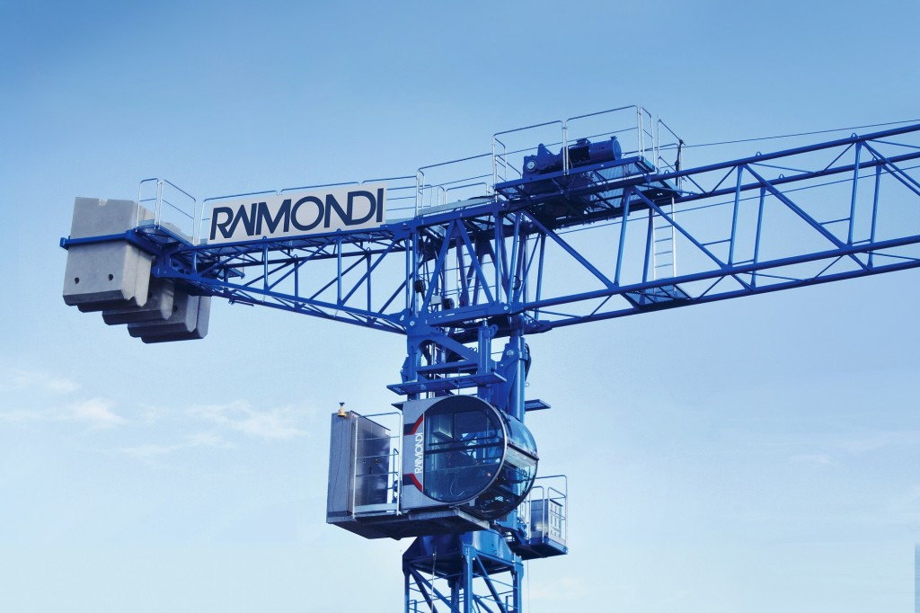 Raimondi Cranes - LRH174 Luffing-Jib Tower Cranes