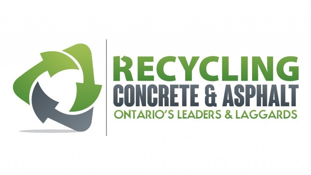 Municipalities across Ontario urged to do more to support recycling of aggregates