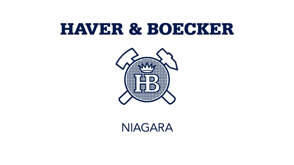 Haver & Boecker has established a new, global brand named Haver & Boecker Niagara, to combine the engineering expertise and product portfolios of its three mineral processing companies; Haver Niagara GmbH, Haver & Boecker Canada, and Haver & Boecker Latinoamericana.