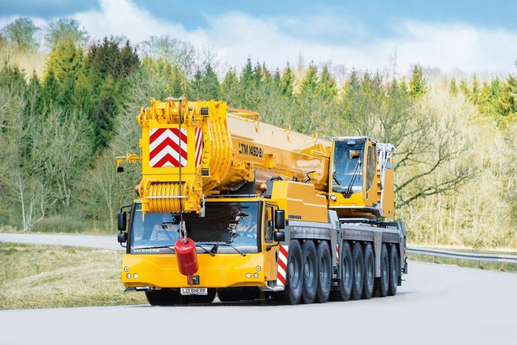 Liebherr Canada - LTM 1450-8.1 Mobile Cranes