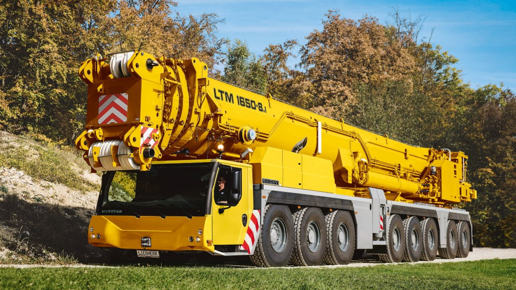 The Liebherr LTM 1650-8.1 mobile crane is designed to deliver maximum performance.