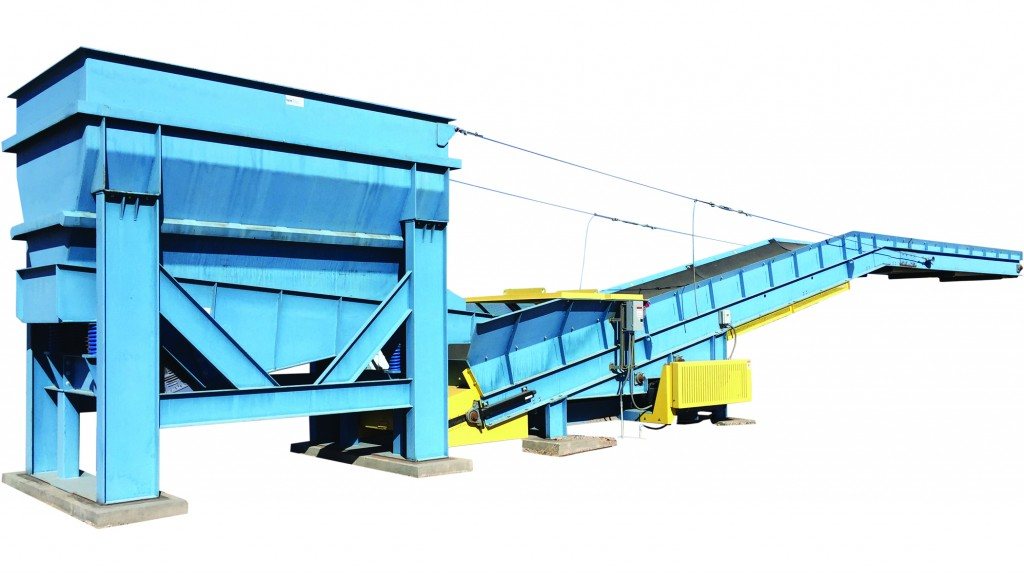 Container Loading System from BPS loads metals quickly and efficiently