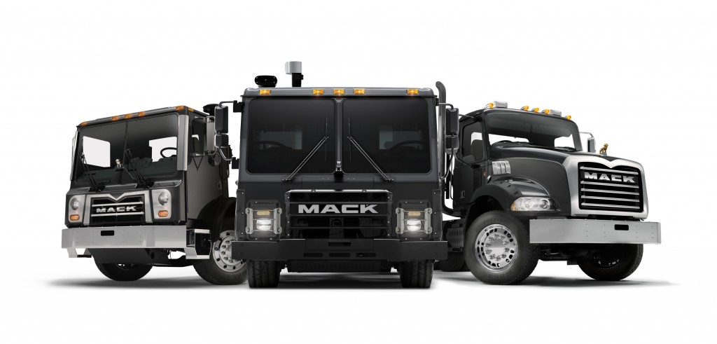 Mack Trucks' Mack LR battery electric vehicle demonstrator model will debut as part of Mack's booth lineup at WasteExpo 2019, May 6-9 at the Las Vegas Convention Center.