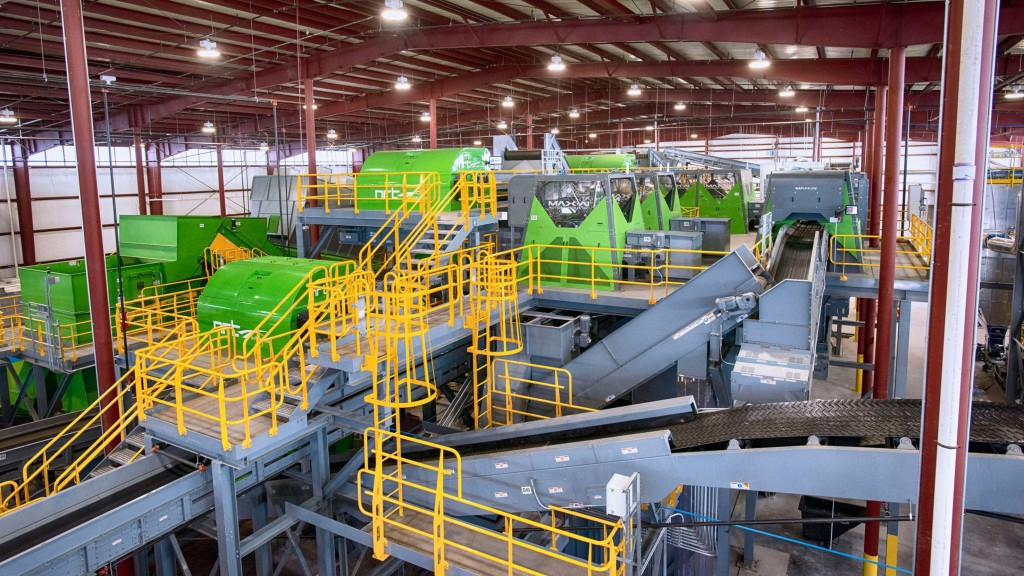 RePower South starts up advanced recycling system using BHS