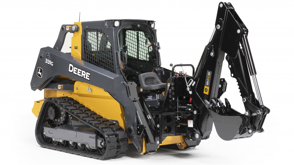 John Deere adds backhoes to its attachments lineup