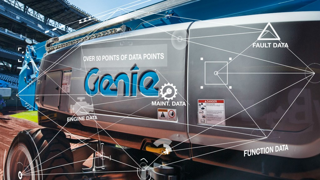 Terex AWP recently released the Genie Lift Connect telematics solution.