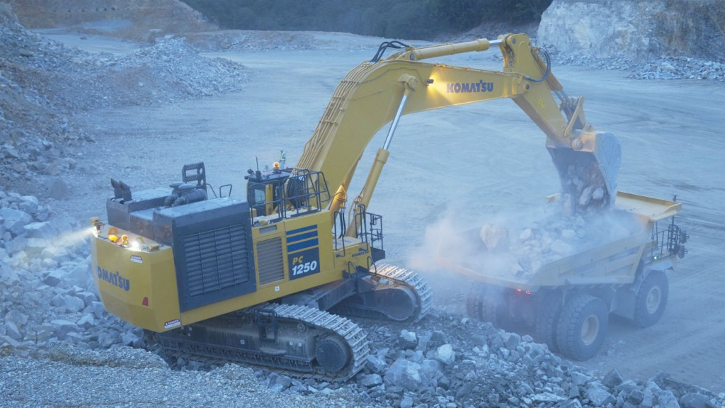 Komatsu offers two new hydraulic excavators with new Power+