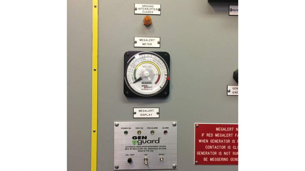 "Continuous ""hands off"" insulation resistance testing of critical motors"