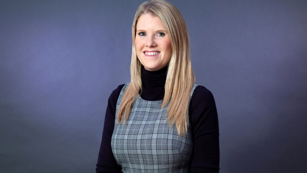 Amelia Pearce, new vice president of global marketing at Ahern Companies.