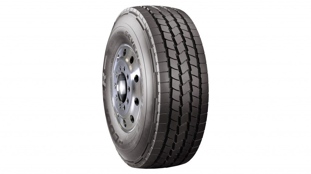 The Cooper SEVERE Series WBA features a five-rib design with 23/32nds of tread and a unique zigzag rib in the center.