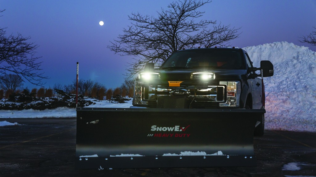 LED headlamps from SnowEx improve lighting for snowplows