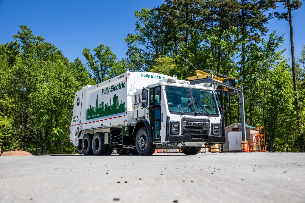 Mack Trucks unveiled today its highly anticipated Mack® LR battery