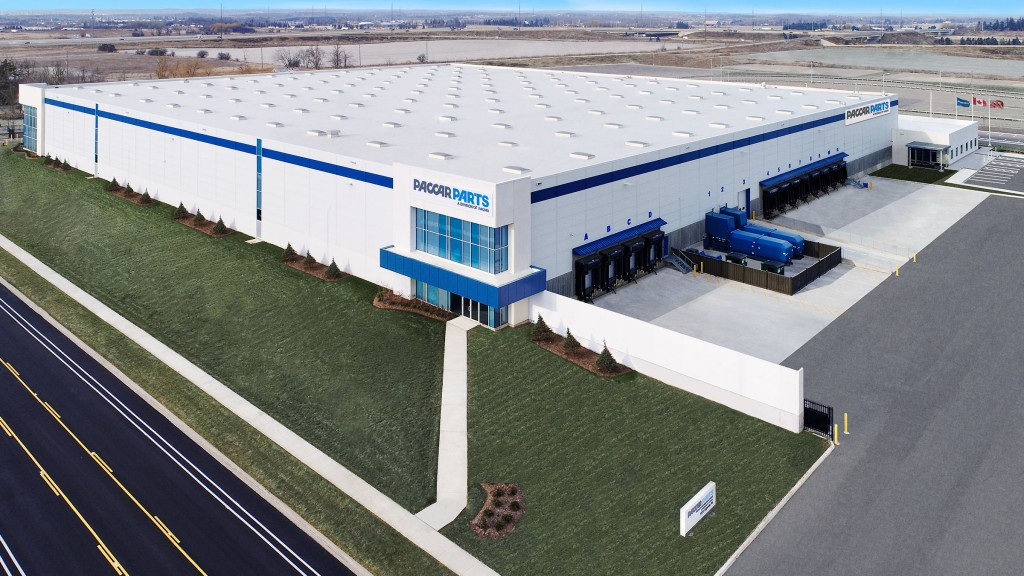 """""""The grand opening of this facility demonstrated our commitment to providing industry-leading uptime to our customers across Canada and North America,"""" said David Danforth, PACCAR Parts general manager and PACCAR vice president."""
