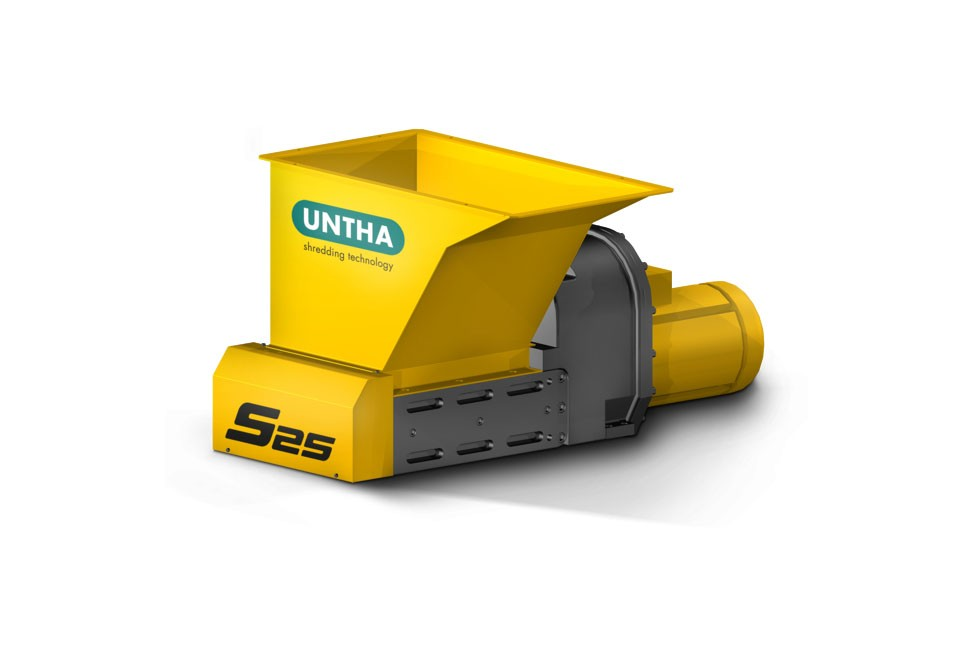 UNTHA Shredding Technology - S25 Shredders