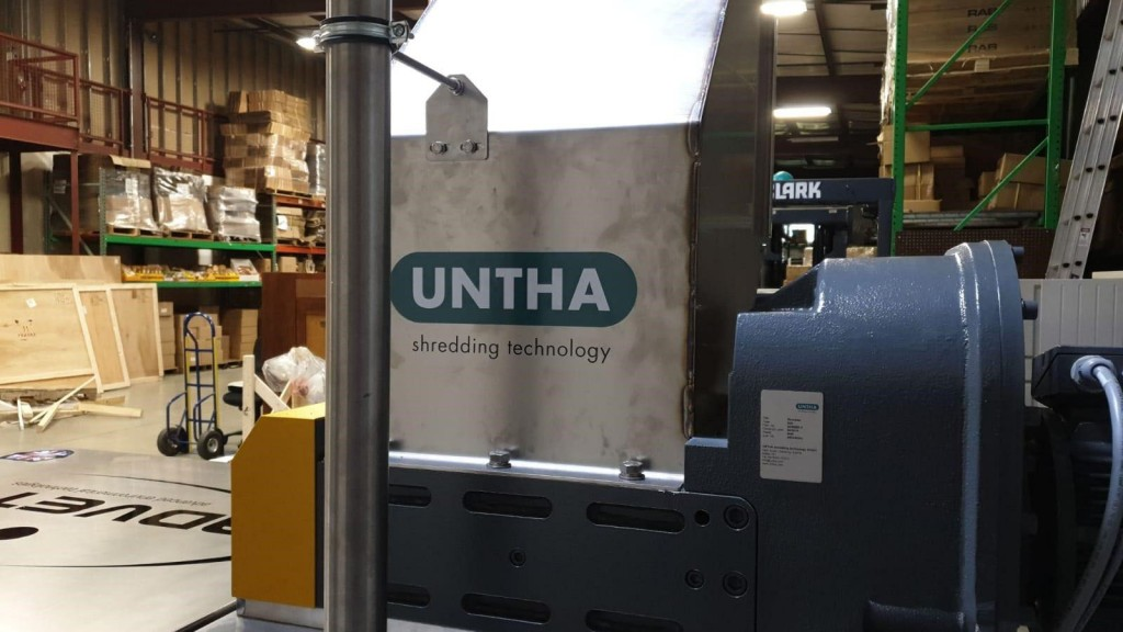 UNTHA's low maintenance two-shaft S25 shredder will now be supplied as part of Advetec's rapid organic waste digestion innovation.