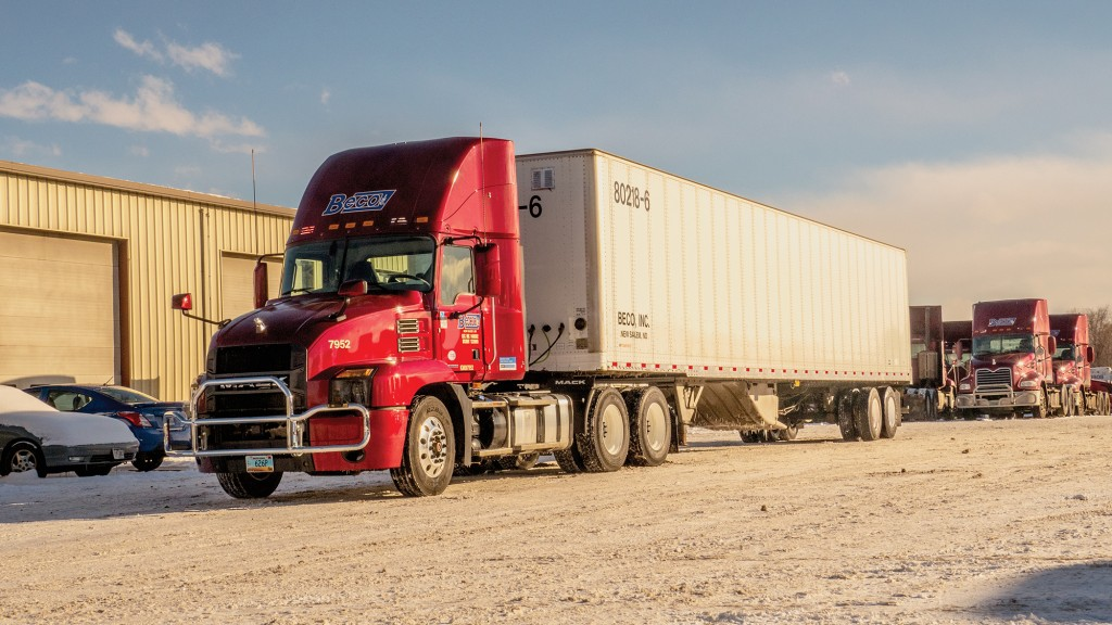 Beco relies on Mack Pinnacle and Anthem for on-time mail