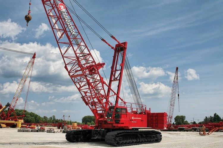 Manitowoc Company, Inc - MLC165-1 Lattice Boom Cranes