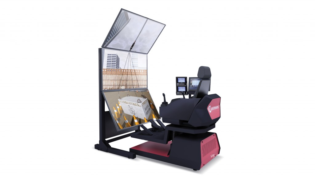 CM Labs' CCS-driven Vortex® simulators provide operator training and drive adoption of Manitowoc cranes by providing crane operators with direct experience of the benefits and capabilities of CCS equipped cranes.