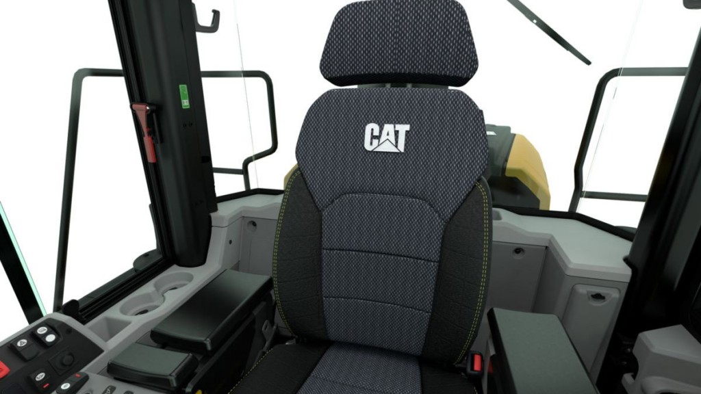The Sears' Nexus seat, available globally in Caterpillar's M Series Wheel Loader, will allow operators to tune the suspension and adjust the seat to their individual preferences.