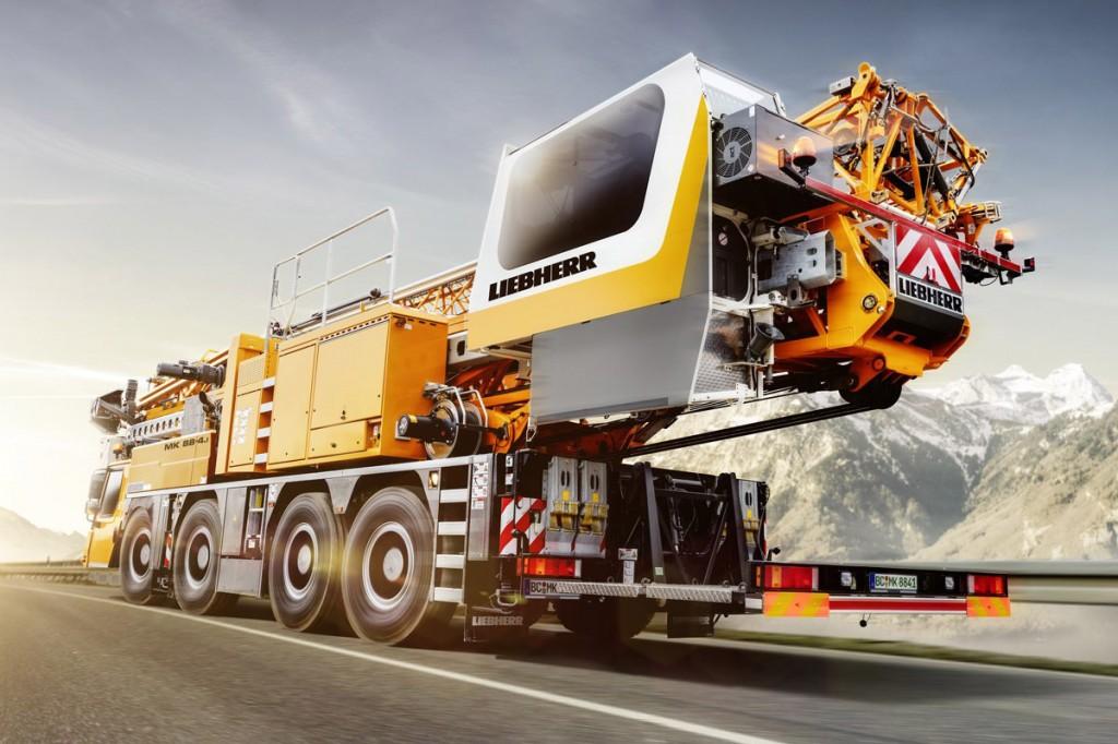 Liebherr Canada - MK 88-4.1 Mobile Cranes
