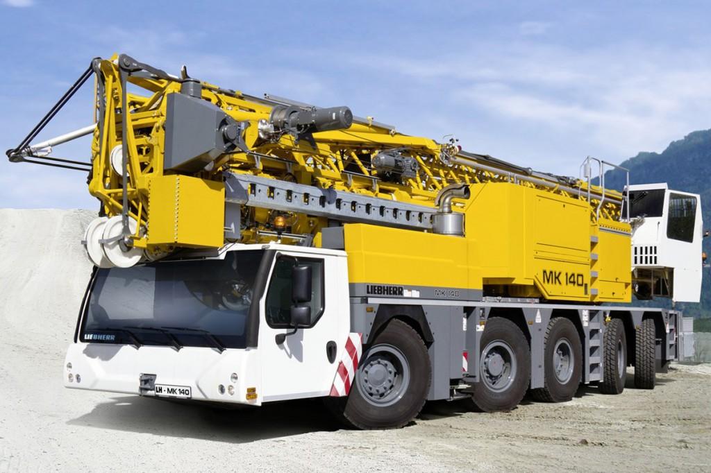 Liebherr Canada - MK 140 Mobile Cranes