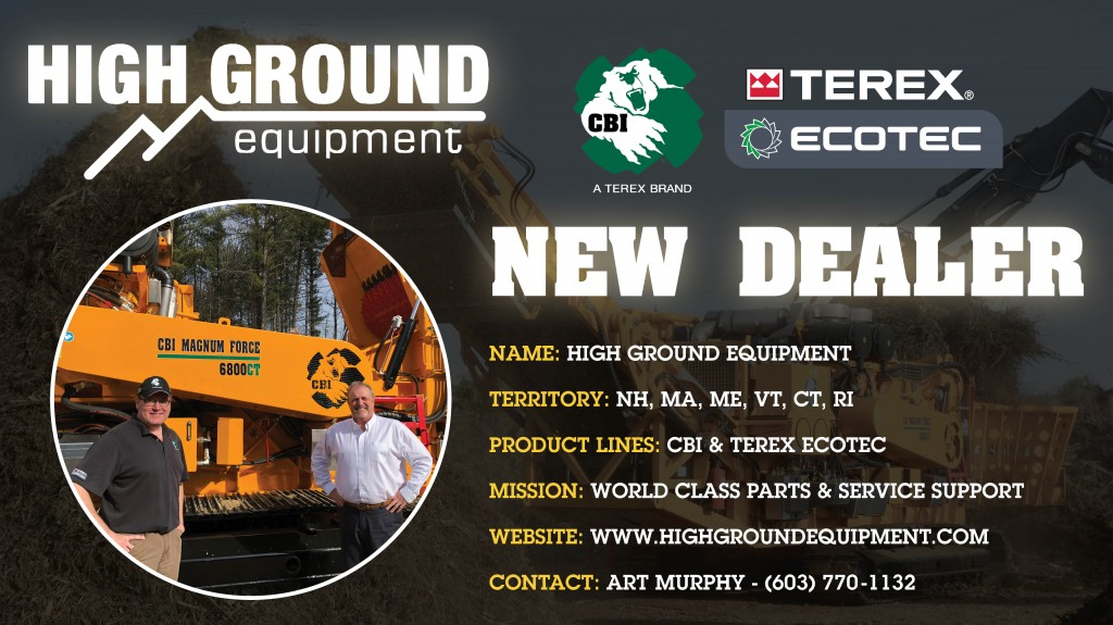 CBI & Ecotec expand New England focus with high ground equipment