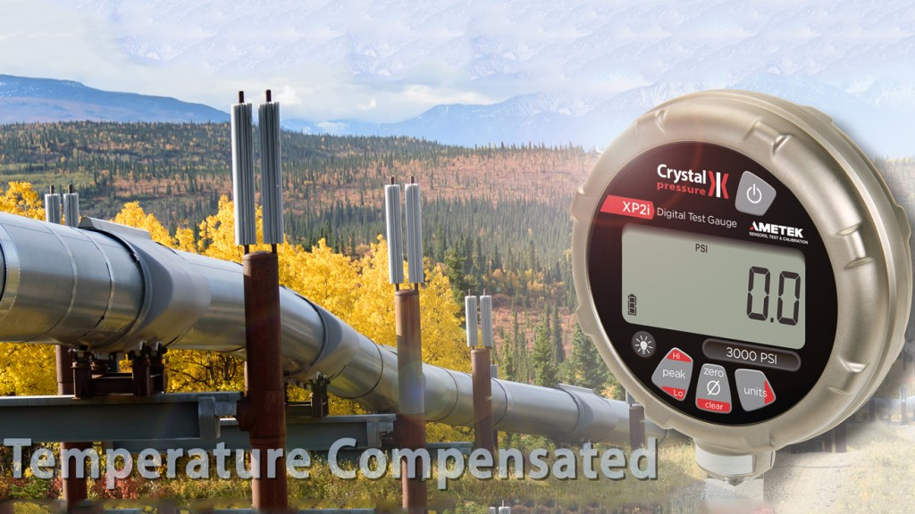 Conduct reliable hydrostatic pressure tests with AMETEK STC XP2i