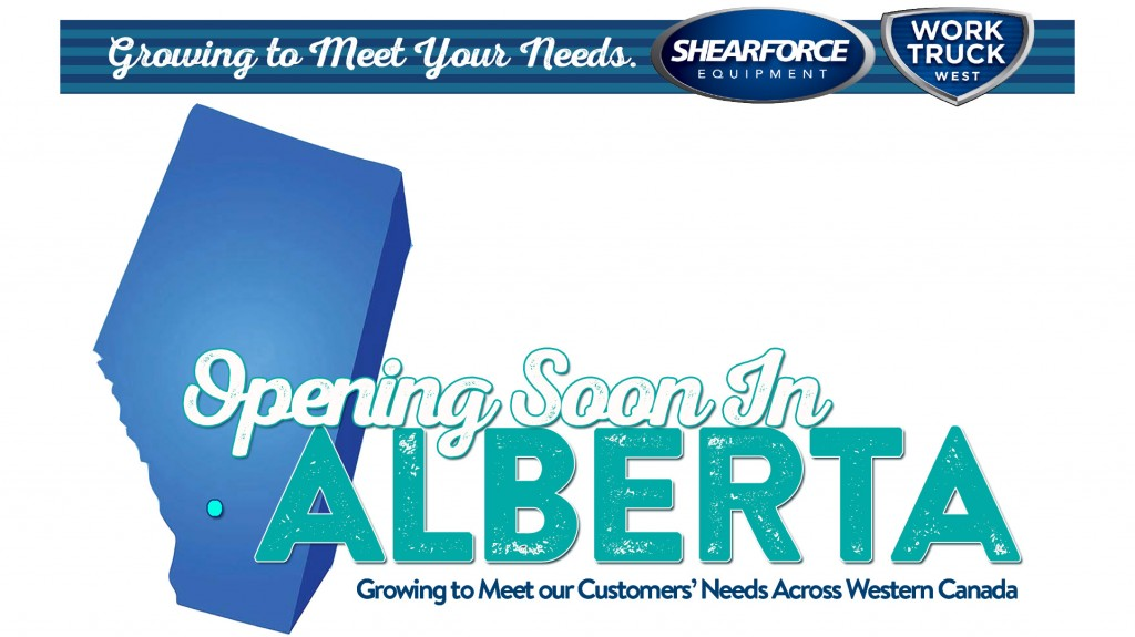 ShearForce and Work Truck West expanding in Alberta this summer