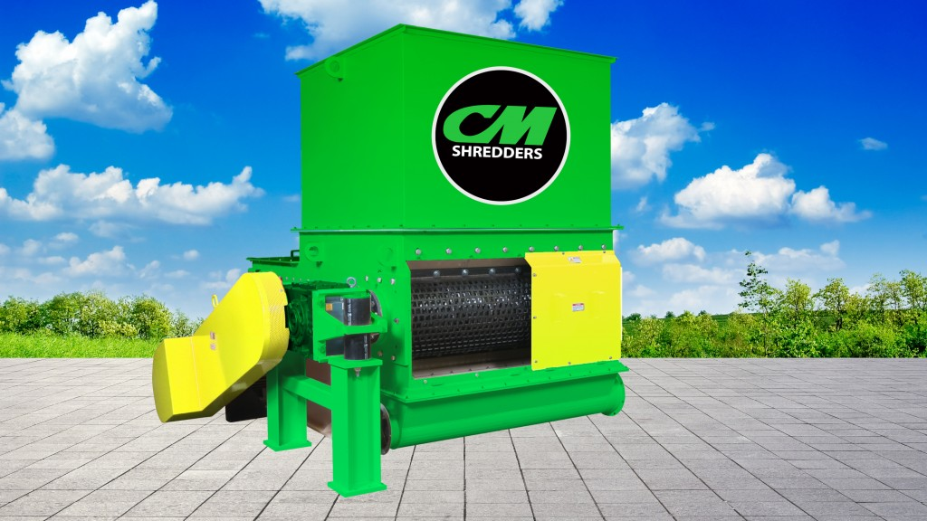 CM introduces Solo single-shaft shredders lineup