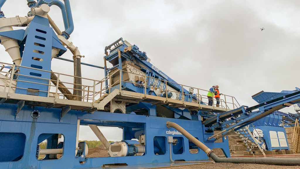 CDE wet processing plant showcased at NY aggregates operator