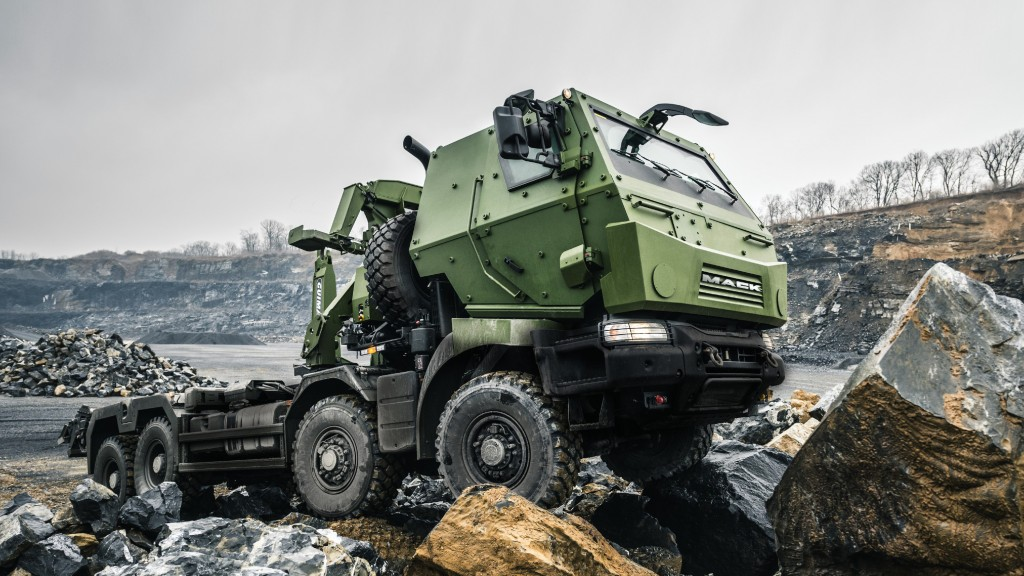 Mack Defense will showcase the ongoing delivery of its Medium Support Vehicle System (MSVS) Standard Military Pattern (SMP) trucks to Canada at the Canadian Association of Defense and Security Industries (CANSEC) trade show, May 29-30 at the EY Centre in Ottawa, Ontario, Canada.