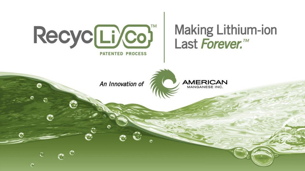 American Manganese begins testing of the final stages of the RecycLiCo Pilot Plant for lithium batteries
