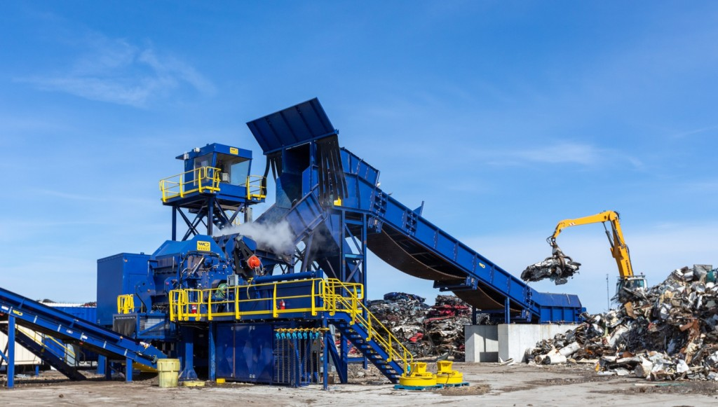 Newco Metal & Auto Recycling commissions Wendt modular shredder and separation system