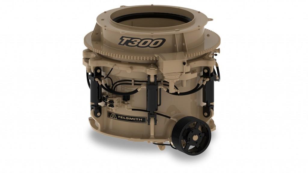 Telsmith Inc. - Titan™ T300 Portable Cone Crushers