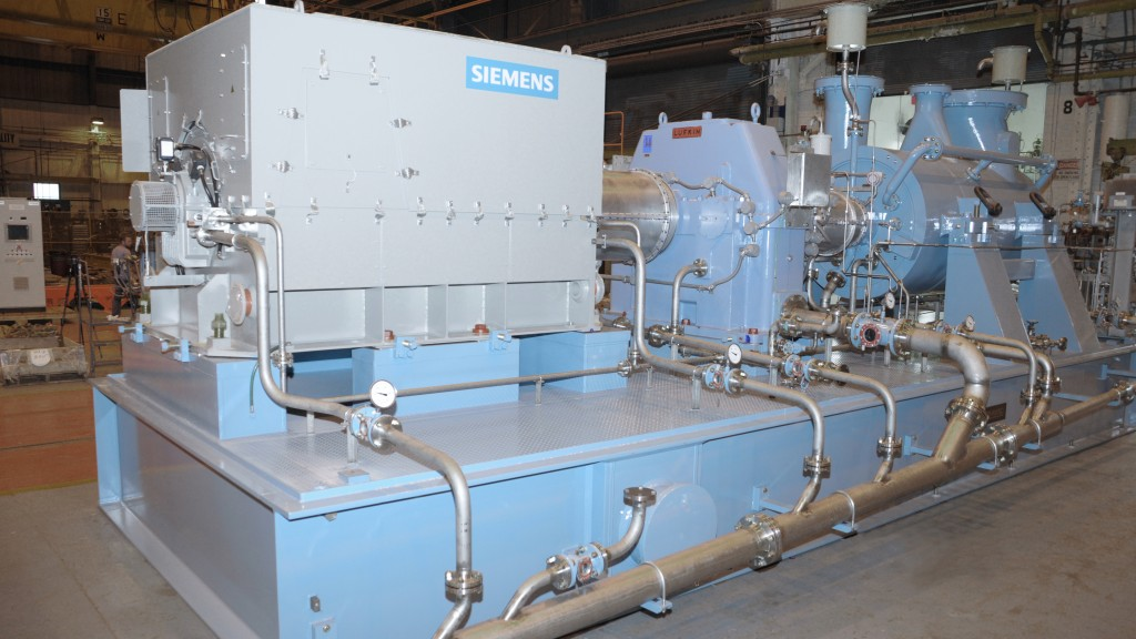 This Dresser-Rand® DATUM centrifugal compressor is similar to the one that will be used at the gas processing plant in the Delaware Basin.