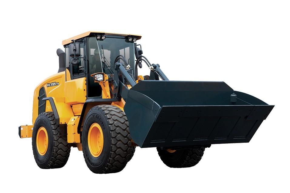 Hyundai Construction Equipment Americas Inc. - HL955 TM Wheel Loaders
