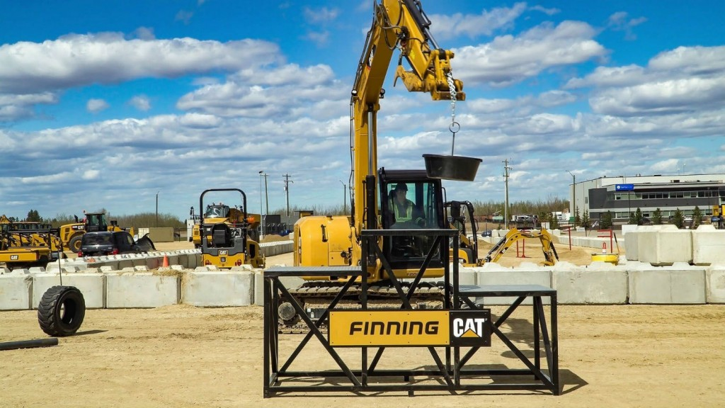 Finning Canada putting operators to the test for Caterpillar Global Operator Challenge