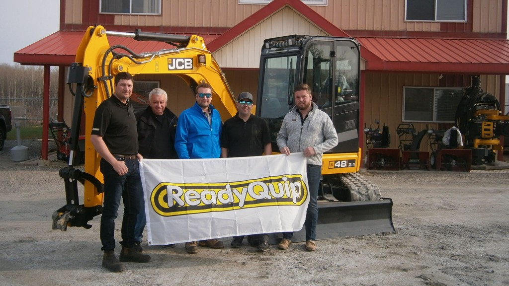 ReadyQuip JCB in Timmins, Ontario is the newest addition to the JCB dealer network in Canada.