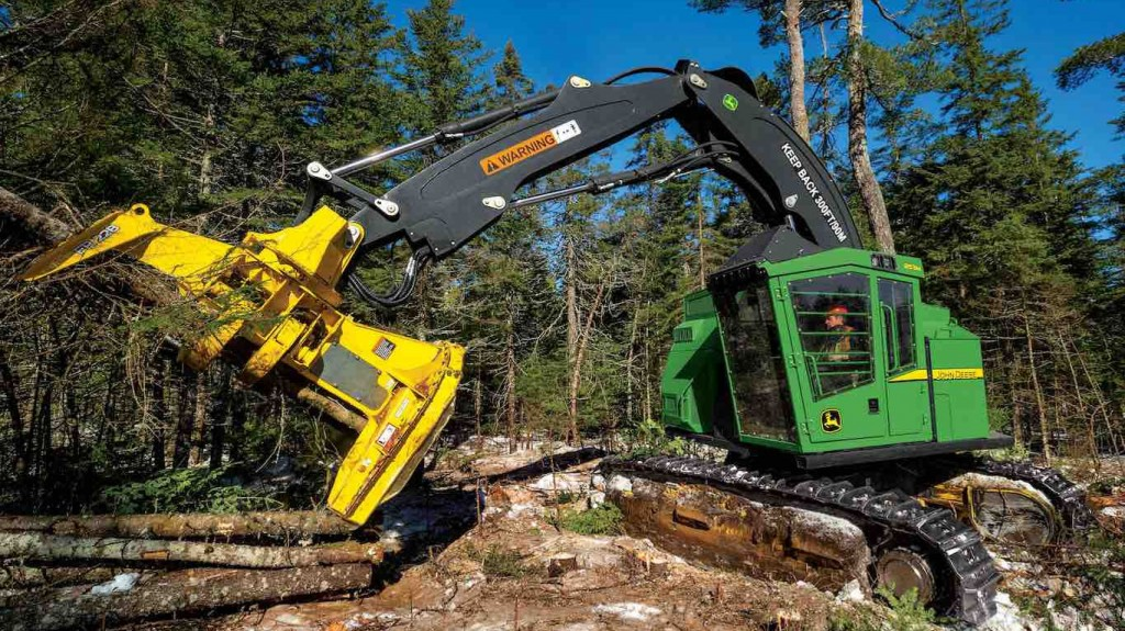 John Deere announces upgrades to FR22B and FR24B felling heads
