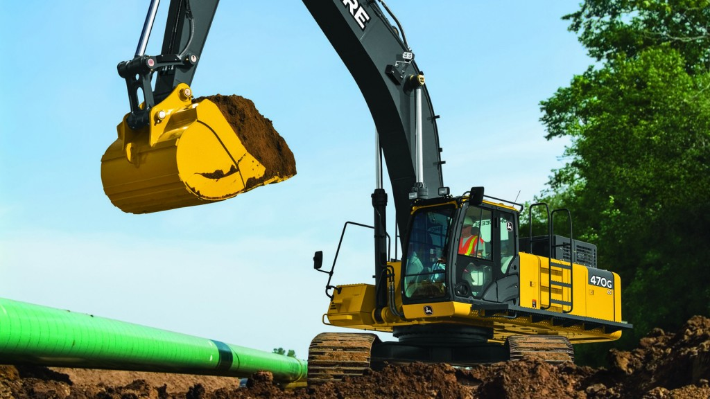 """Accuracy and productivity are critical to our customers, and the new integrated system provides them with just that,"" said Jonny Spendlove, excavator product marketing manager, John Deere Construction & Forestry."