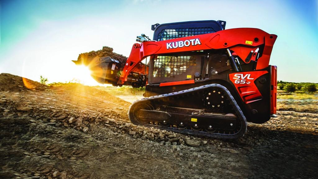 Kubota's lightest  and most maneuverable compact track loader ever