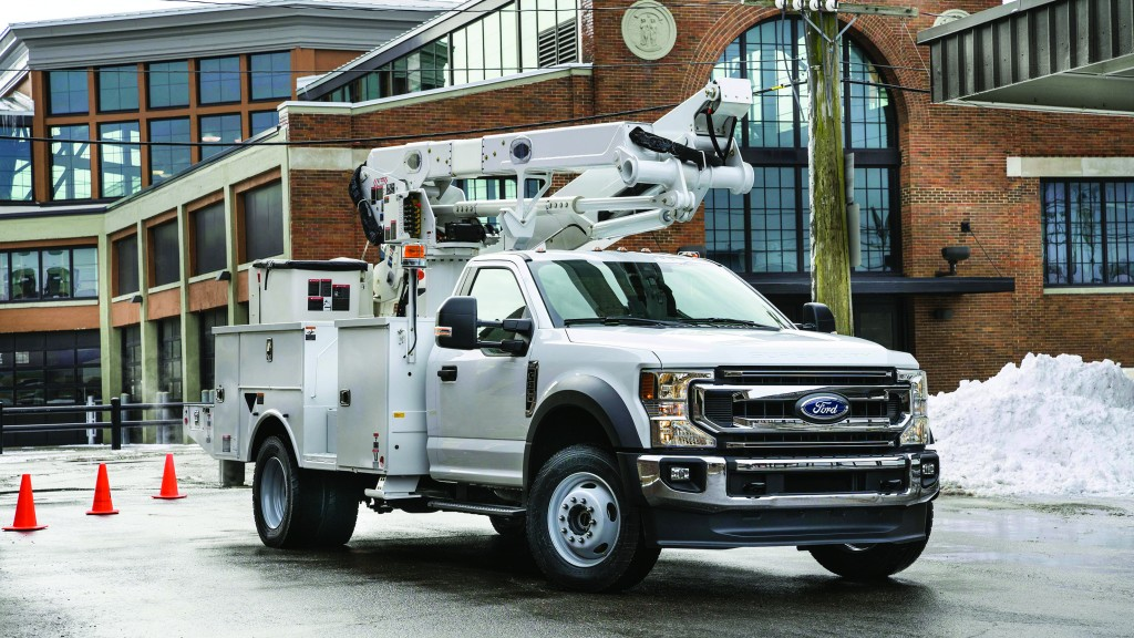 Ford's latest chassis cab offers more capacity in a smaller package