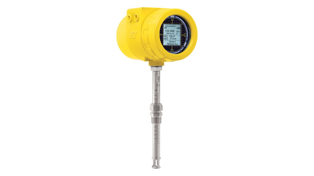FCI's ST100 Meter is ideal for air feed control measurement in this process.  Featuring a thermal dispersion technology flow sensor design, the ST100 meter combines repeatable measurement with feature- and function-rich electronics.