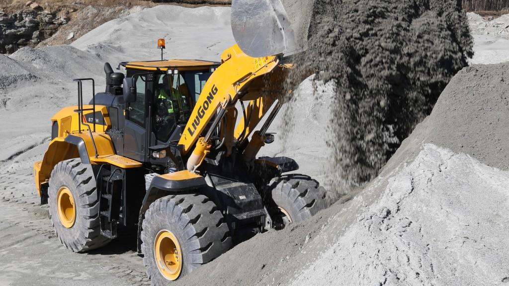 Liugong North America introduces new high production wheel loader