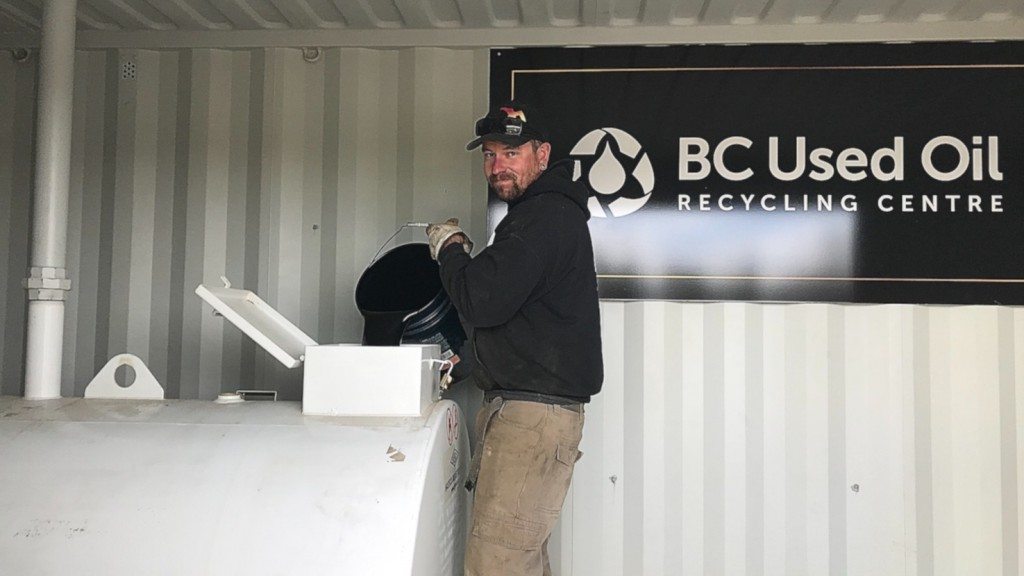 The Cariboo Regional District, in partnership with BCUOMA, has upgraded their used oil recycling facility located at the West Chilcotin Landfill.